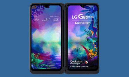 LG lança celular com duas telas