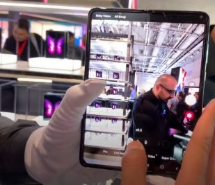 Lançamento do Galaxy Fold no Brasil 2020