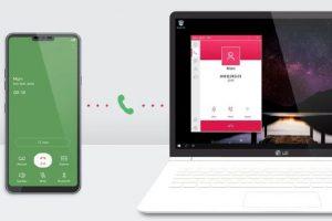 LG lança aplicativo que permite mexer no celular direto do computador